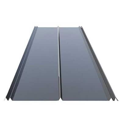 12 ft. 5V Crimp Galvanized Steel 29-Gauge Roof Panel