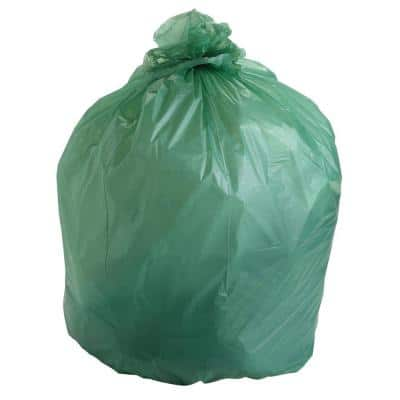 30 Gal. EcoSafe Compostable Trash Bags (48 Per Box)