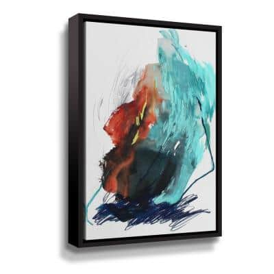 The Summer no. 5' by Ying guo Framed Canvas Wall Art