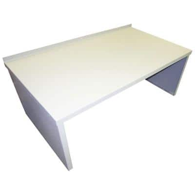 Classic Series 55 in. x 30 in. White Powder Coated Painted Steel Cellar Door Extension for SZ CGPC1