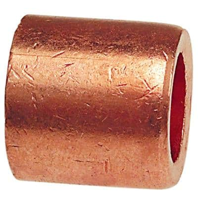 3/4 in. x 1/2 in. Copper Pressure Fitting x Cup Flush Bushing
