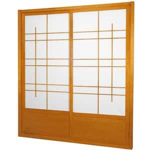 7 ft. Honey Eudes 0-Panel Room Divider