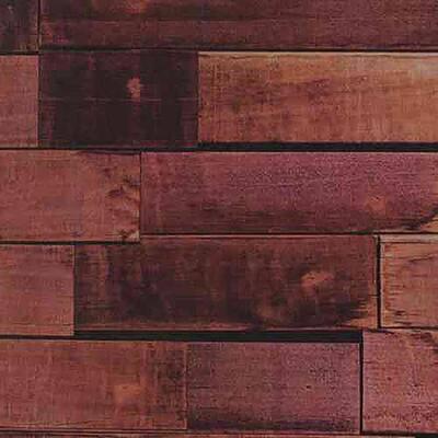 New York Vanilla Wood Brown Wood Wallpaper Sample