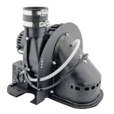 40 Gal. to 50 Gal. Tall Power Vent Blower Assembly