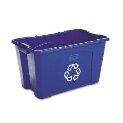 18 Gal. Blue Recycling Bin