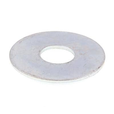 1/2 in. x 1-1/2 in. O.D. Zinc Plated Steel Fender Washers (50-Pack)