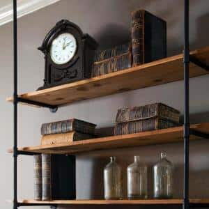 Wooden Mantel Clock with Chimes