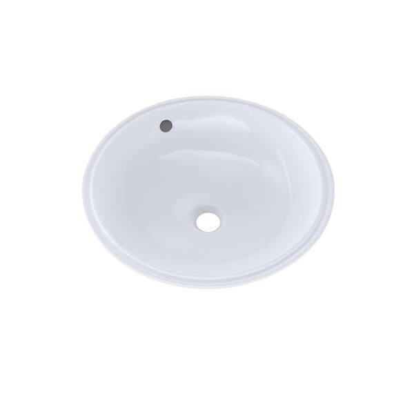 https www homedepot com p toto 16 in round undermount bathroom sink with cefiontect in cotton white lt193g 01 301303071