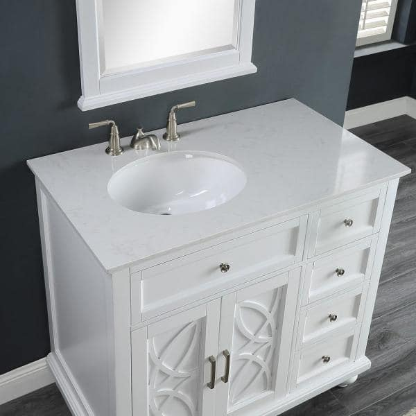 Home Decorators Collection Colford 38, 38 Bathroom Vanity