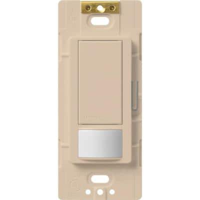 Maestro Motion Sensor switch, 5-Amp, Single-Pole or Multi-Location, Taupe