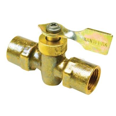 Brass Two Way Fuel Line Valve