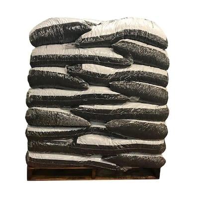 75 cu. ft. Black Rubber Mulch (50 Bags)