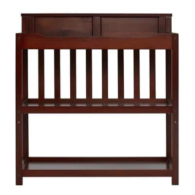 Zoey 3-in-1 Espresso Convertible Changing Table, Twin Bed