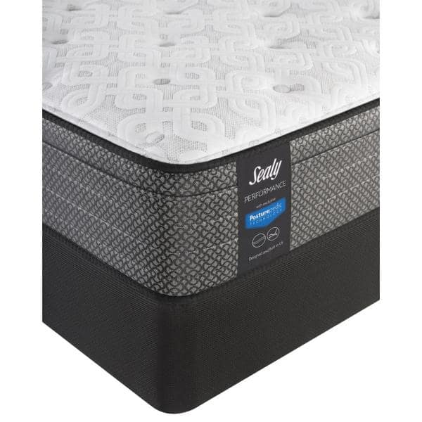 Sealy Response Performance 13 In Twin Xl Cushion Firm Faux Euro Top Mattress Set With 9 In High Profile Foundation 42305131 The Home Depot