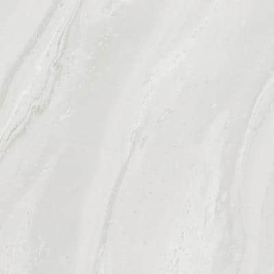 4 ft. x 8 ft. Laminate Sheet in 180fx White Painted Marble with SatinTouch Finish