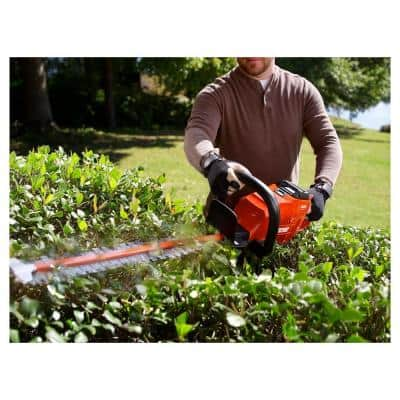 24 in. 58-Volt Lithium-Ion Brushless Cordless Battery Hedge Trimmer (Tool-Only)