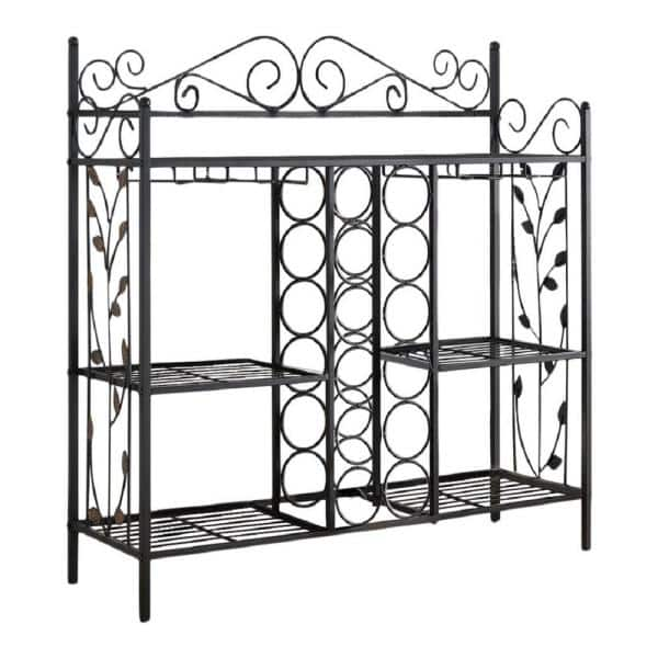 Metal Console Table Wine Rack 1531rw, Furniture Brand Reviews