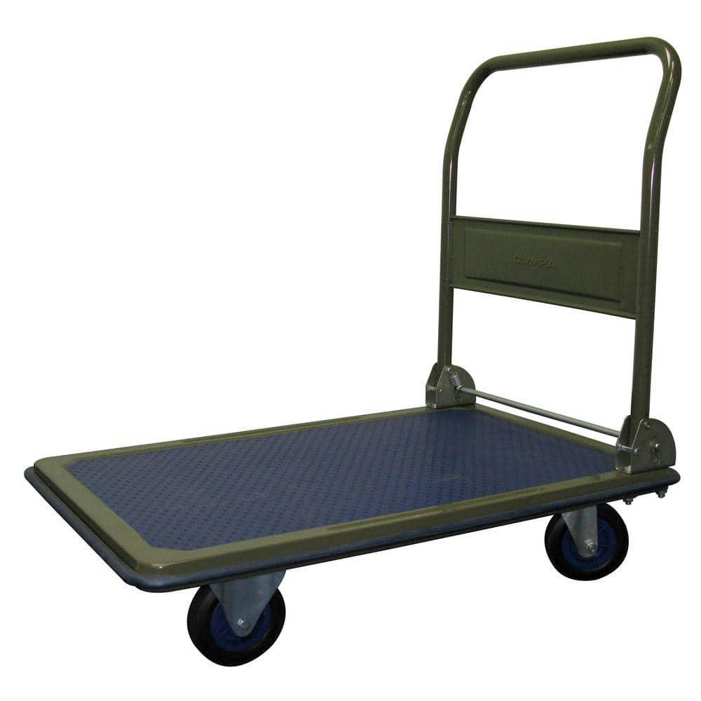 Pack N Roll Heavy Duty 600 Lb Capacity Folding Platform Cart 85 182 The Home Depot