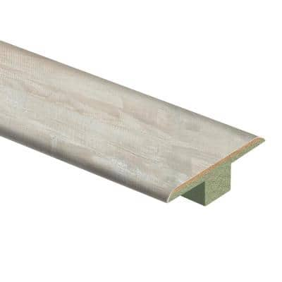Whitewashed Walnut 7/16 in. T x 1-3/4 in. Wide x 72 in. Length Laminate T-Molding