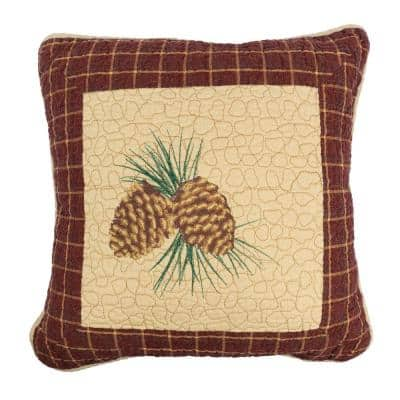 Pine Lodge Dec Pillow (pine cone)