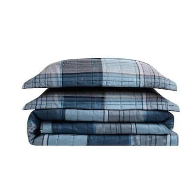 Trey Multi Polyester Quilt Set