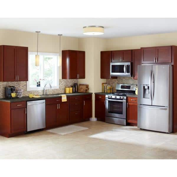The Home Depot Installed Cabinet Makeover Wood Doors Hdinstcrgla The Home Depot