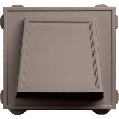 6 in. Hooded Siding Vent #008-Clay