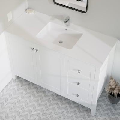 Swiss Madison Bathroom Vanity Tops Bathroom Vanities The Home Depot