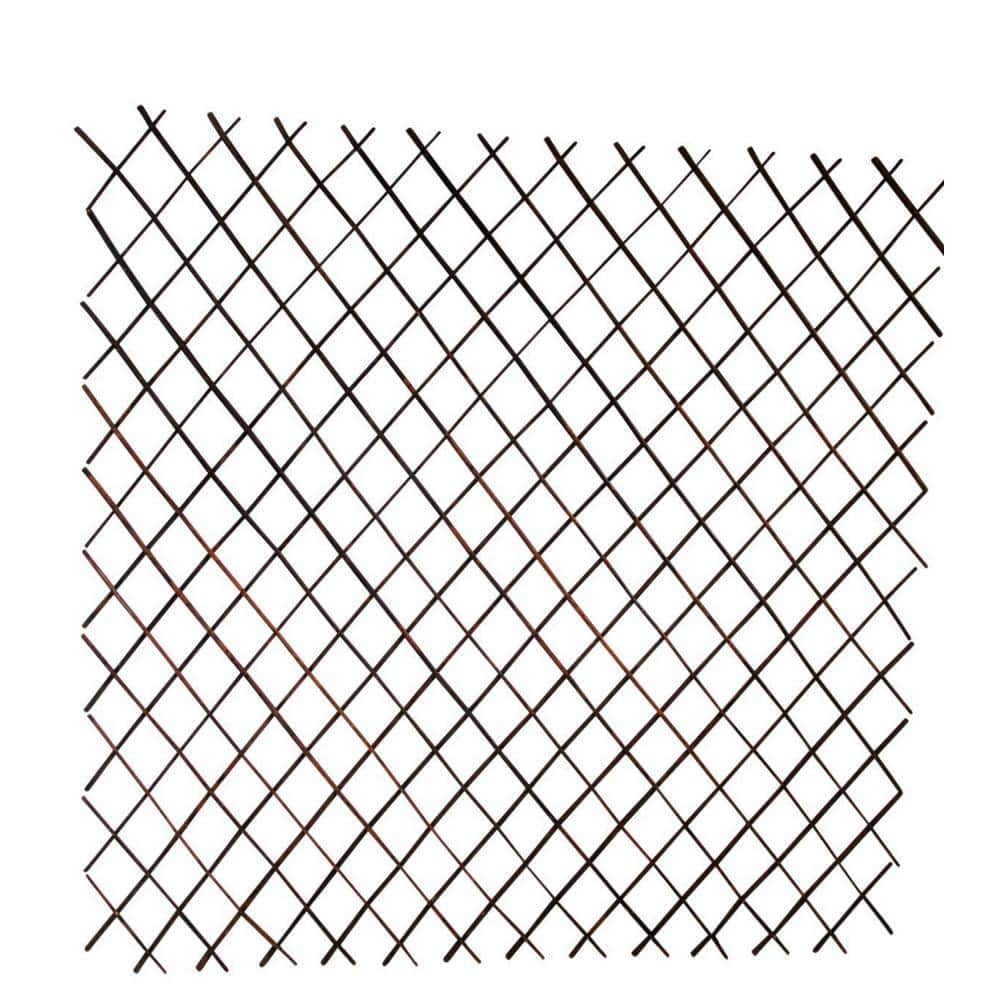 Mgp 72 In W X 60 In H Willow Expandable Trellis Fence Set Wff 60 1 The Home Depot