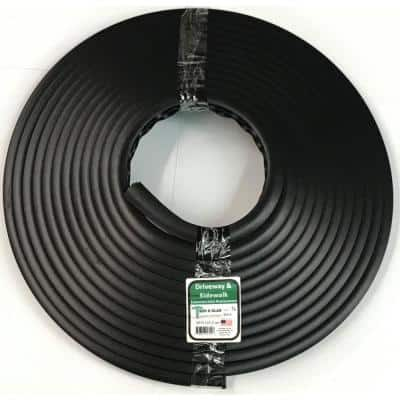 Trim-A-Slab 3/4 in. Wide x 24 in. Dia Roll x 50 ft. Concrete Expansion Joint Replacement in Black