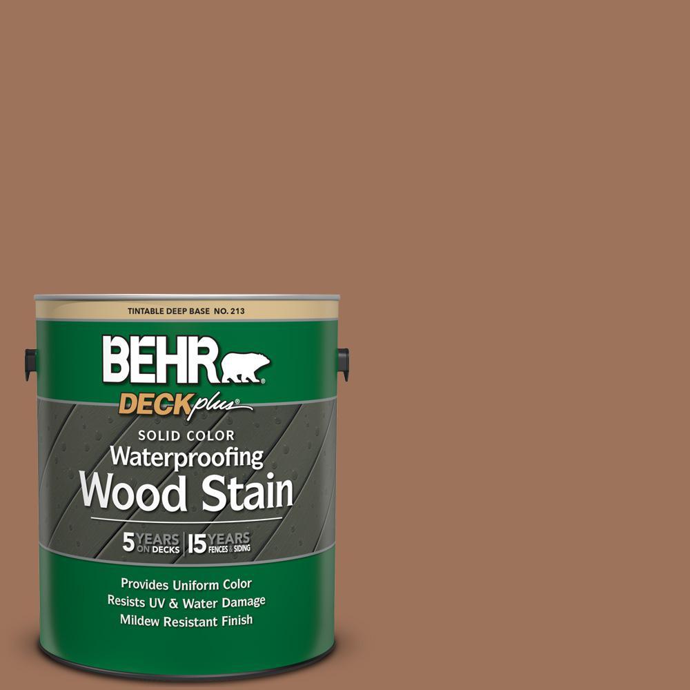 1 gal. #SC-152 Red Cedar Solid Color Waterproofing Exterior Wood Stain