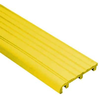Trep-B Yellow 2-1/16 in. x 8 ft. 2-1/2 in. Thermoplastic Rubber Replacement Insert