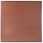 Kingsbridge 2 ft. x 2 ft. Lay-in or Glue-up Border Ceiling Tile in Antique Copper (48 sq. ft. / case)