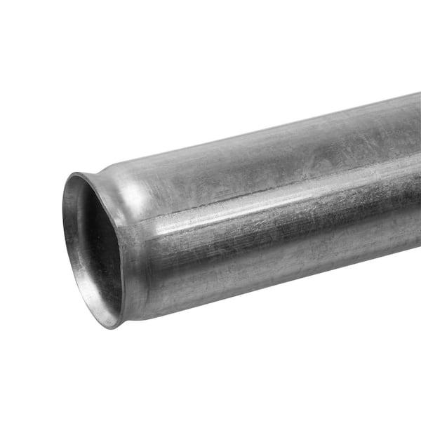 Yardgard 2 3 8 In X 2 3 8 In X 5 5 Ft 16 Gauge Galvanized Metal Corner Fence Post 328941dpts The Home Depot