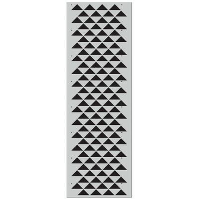 Staggered Triangles Pro Stencil