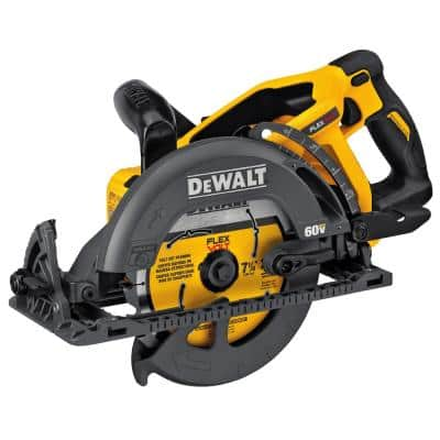 FLEXVOLT 60-Volt MAX Cordless Brushless 7-1/4 in. Wormdrive Style Circular Saw (Tool-Only)
