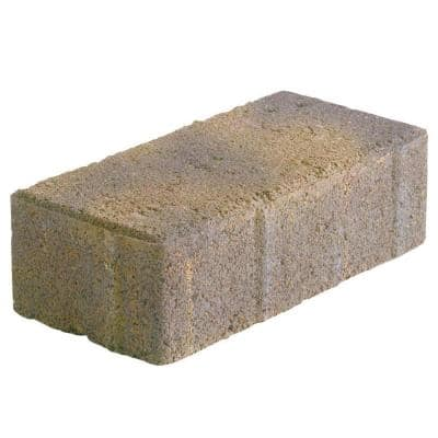 Holland 7.87 in. L x 3.94 in. W x 60 mm H Earth Blend Concrete Paver (480-Pieces/103.2 sq. ft./Pallet)
