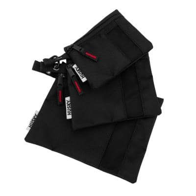 Assorted Size Parts Organizer Pouch Bag Set