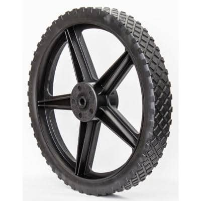 Replacement 13.75 in. Wheel for Swisher Standard String Trimmer