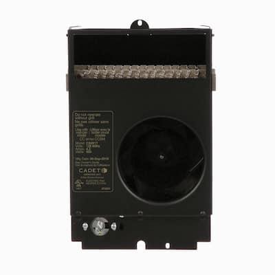Com-Pak 2560 BTU Fan Heater Assembly only 750-Watt 208-Volt Electric with Stat