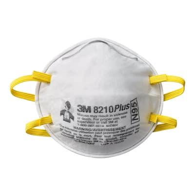 Disposable Plus Performance Sanding and Fiberglass Respirator (40 Each/Pack)