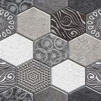 3D PVC Peel and Stick Mosaic Tile Sticker JM516 12 in. x 12 in. (20-Piece)