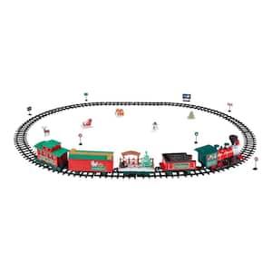 Remote Control North Pole Express Christmas Train Set