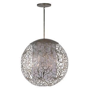 Arabesque 13-Light Golden Silver Pendant