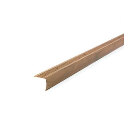 MetalDecor 1.125 in. x 36 in. Aluminum Cherry Stair Edging