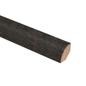 Hickory Vintage Barrel 3/4 in. Thick x 3/4 in. Wide x 94 in. Length Hardwood Quarter Round Molding