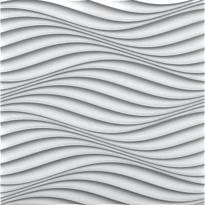 Wind 2 ft. x 2 ft. Seamless Foam Glue-up Wall Panel (48 Sq. Ft. / Pack)