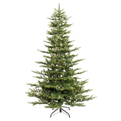 7.5 ft. Aspen Fir Artificial Christmas Tree with 700 Warm White Lights
