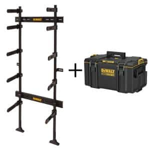TOUGHSYSTEM 25-1/2 in. Workshop Racking Storage System, with Bonus TOUGHSYSTEM 2.0 22 in. Medium Tool Box