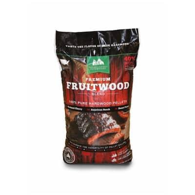Premium Fruitwood Pure Hardwood Grilling Cooking Pellets